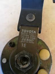 lexus is 300 for sale ebay toyota lexus is300 oem loud tone pitch sound speaker siren waring