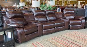 cheers sofa luke luke leather 4 seat reclining theater sectional