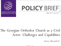 The Geopolitics Of The Orthodox by Policy Briefs U0026 Papers Gip