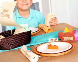 thanksgiving sentiment kids thanksgiving table decoration ideas fiskars