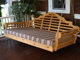 porch swing bed cushions interesting ideas for home