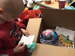 christmas cards sought for terminally ill maine boy daily mail