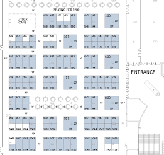 Expo Floor Plan Floor Plan For The Gea Trade Show Grc U0027s 38th Annual Meeting And