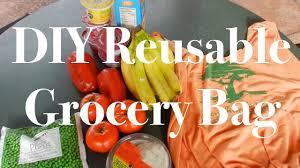 diy reusable grocery bag earth day 2017 youtube