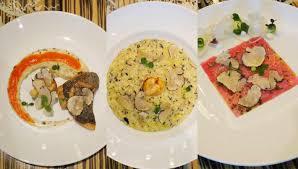 la cuisine reviews ร ว ว summer black truffle menu ส ดยอดว ตถ ด บก บอาหารอ ตาเล ยนรส