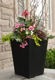 Outdoor Planter Ideas by Fountains Make Splash At Northwest Flower And Garden Show Entrance