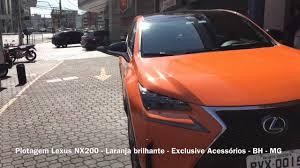 new lexus nx dubai plotagem lexus nx200 laranja brilhante exclusive acessórios