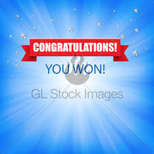 congratulation banner congratulation banner with ribbon gl stock images
