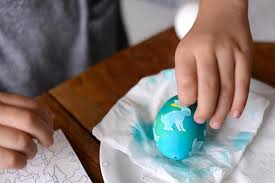 Decorate Easter Eggs Using Stickers by Diy Silhouette Easter Eggs Handmade Charlotte