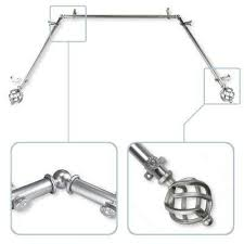 curtain rods u0026 sets curtain rods u0026 hardware the home depot