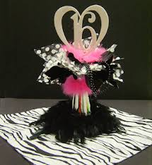 sweet 16 centerpieces sweet 16 heart cut out