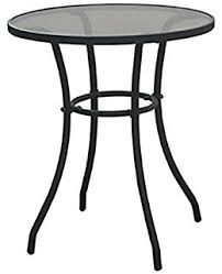 Black Bistro Table Amazon Com Prime Products 13 5089 Black Steel Bistro Table