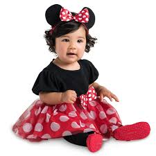 minnie mouse costume bodysuit baby personalizable shopdisney