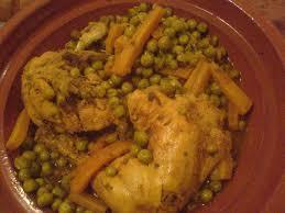 comment cuisiner les petits pois tajine de poulet aux petits pois carottes ou comment retmber en