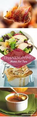 2015 thanksgiving menu for two