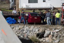 mysterious voice u0027 leads police to baby in submerged car ny daily