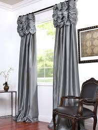 Luxury Grey Curtains Grey Satin Curtains Best Faux Silk Curtains Ideas On Decorative