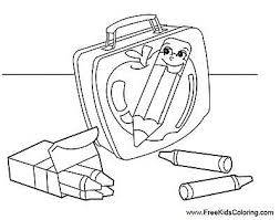 free back to coloring pages