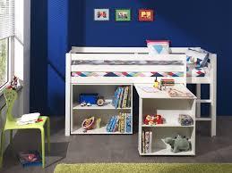 Schreibtisch 90 Funktions Hochbett Pino Mit Schreibtisch Und Regal Kiefer Weiß