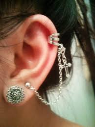 cool earring 20 best earrings images on chain earrings ear cuffs