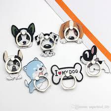 acrylic dog ring holder images Best universal 360 degree cute dog finger ring holder phone stand jpg