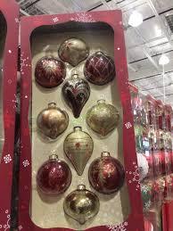 kirkland signature 10pc glass ornaments costcochaser