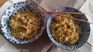 comment cuisiner au wok wok de riz basmati complet et choux de bruxelles cubes de tofu