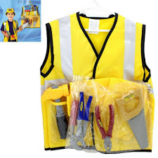 Construction Worker Costume Aliexpress Com Buy Boys Halloween Costumes Construction Worker