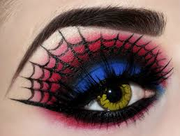 Eye Halloween Makeup by Goth Spider Web Make Up Very Detailed Goth Make Up And Skin