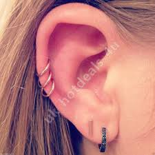 cartilage hoops hoop earrings what every girl to wear anextweb