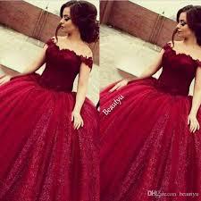 maroon quinceanera dresses sweet 16 prom quinceanera dresses shiny sequins appliques