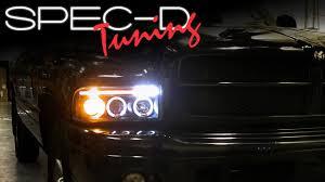 99 dodge ram led lights specdtuning installation 1994 2001 dodge ram lights