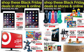 target black friday deals to start on wednesday get ready