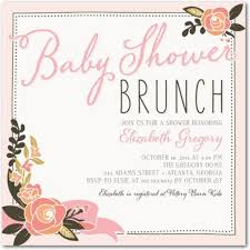 brunch invitation wording baby shower invitation baby shower brunch invitations cloveranddot