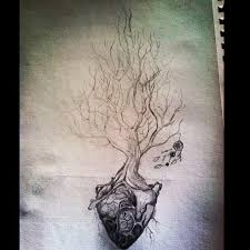 the 25 best tree heart tattoo ideas on pinterest tree tattoos