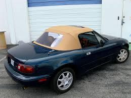 jeep soft top tan miata 1990 2005 convertible top w sundroof u0026 window black