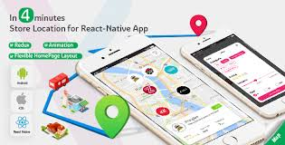 android locator store locator complete react template for ios and android