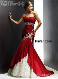 prom style wedding dress mermaid style wedding bridal prom dress gown 6 8 10 for sale