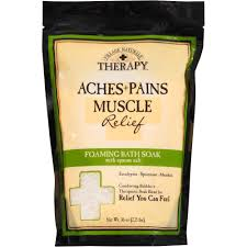 village naturals therapy aches pains relief mineral bath soak village naturals therapy aches pains relief mineral bath soak 20 oz walmart com