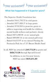 superior health foundation the mission of the superior health
