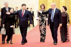 donald trump to xi jinping we can solve global issues of security