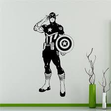 aliexpress com buy captain america avengers sticker superhero