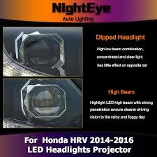 2016 honda crv fog lights nighteye honda hrv headlights 2014 2016 vezel led headlight