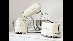 Toaster And Kettle Smeg Launches Its Small Domestic Appliances In America Smeg Us