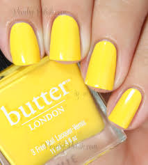 Yellow Swatches Butter London Fall 2013 Colour Clash Collection Swatches U0026 Review