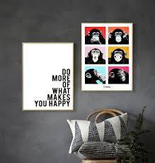 Monkey Home Decor Compare Prices On Abstract Monkey Art Online Shopping Buy Low