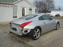 nissan 370z manual for sale 2006 nissan 350z 6 speed manual salvage rebuildable for sale