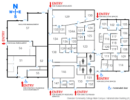 administration office floor plan administration building glendale community college
