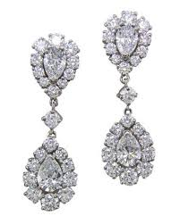 wedding earrings drop earrings for your wedding day and beyond martha stewart weddings
