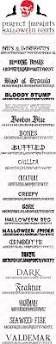 93 best ahe fonts images on pinterest halloween fonts